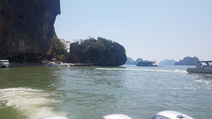 sea at james bond island