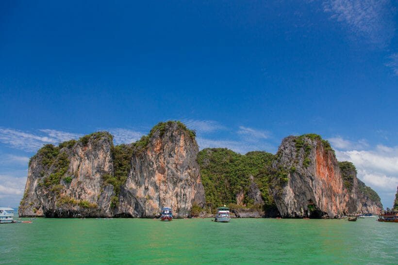 James bond island tours