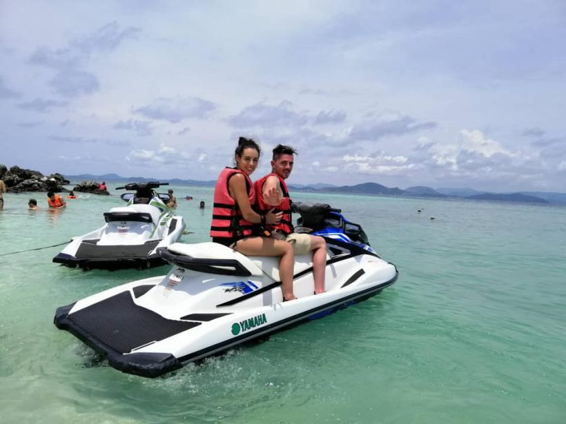 Jet ski at khai islands
