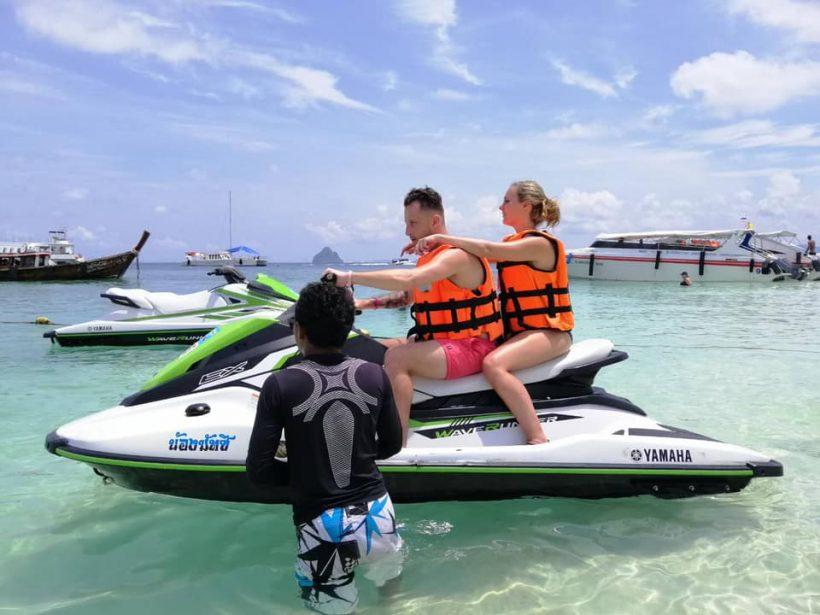 Khai islands jet ski