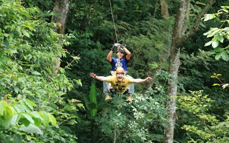 Jungle flying