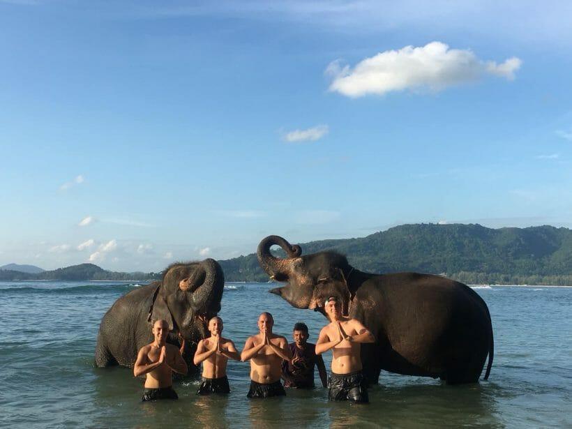 Kamala Elephant Trekking & Bathing Phuket A2
