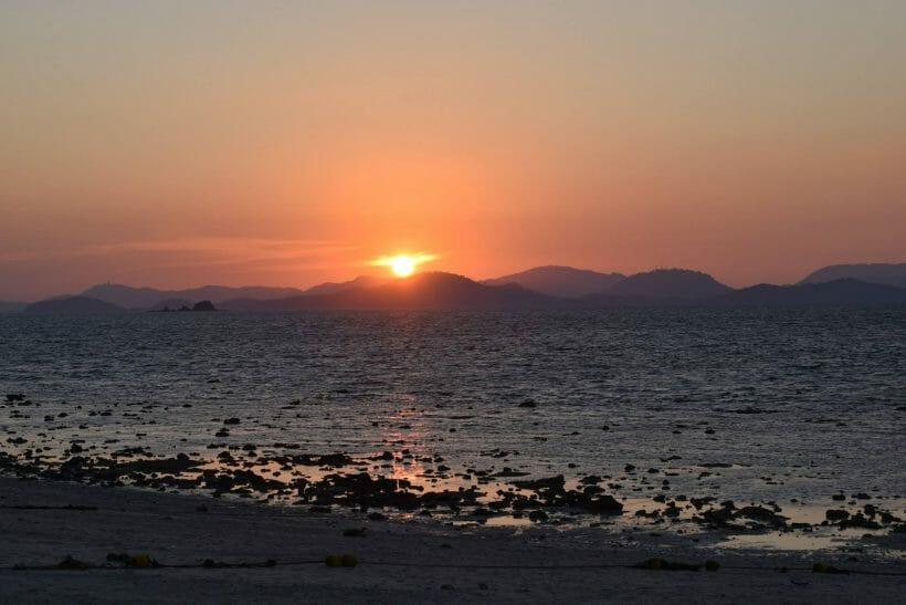 Sunset phi phi