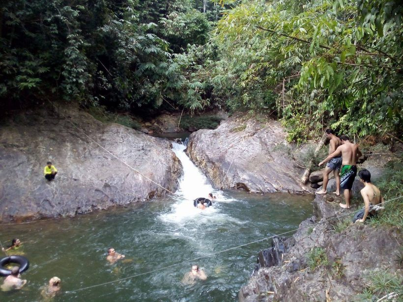 Kamala Elephant Trekking Jungle Walk & Waterfall C1