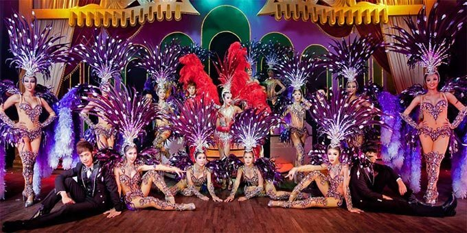 show in Patong Simon cabaret