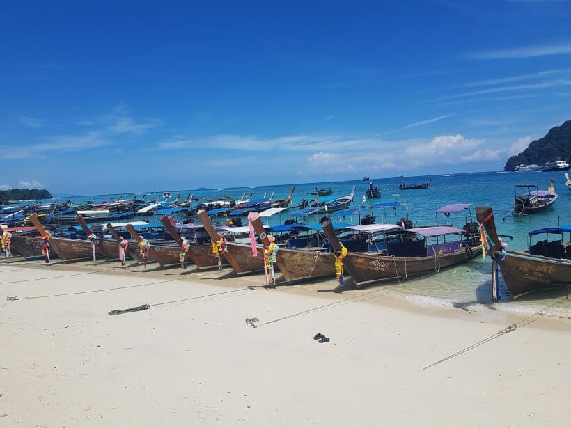 Phi Phi Don long boats