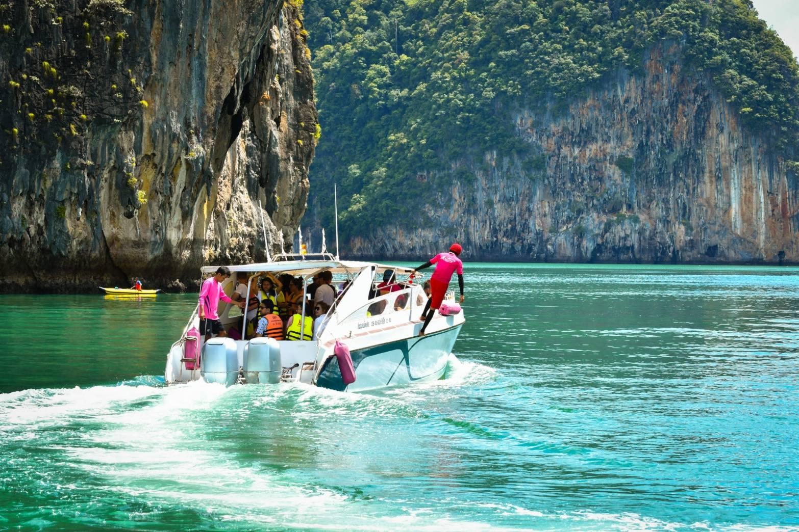 James Bond Island Speed Boat Qbic Travel Phuket Thailand