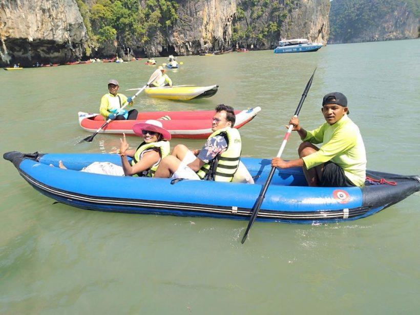 Canoe James Bond