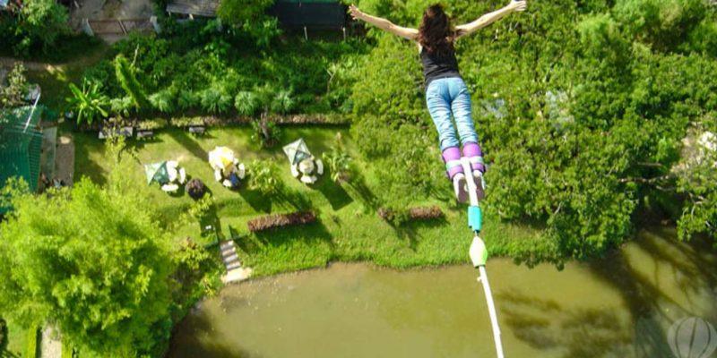 Bungee Jumping in Phuket Thailand