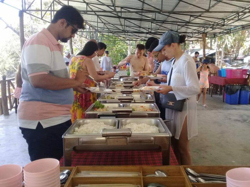 Raya Island Lunch