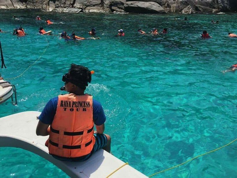 Raya Island Snorkeling