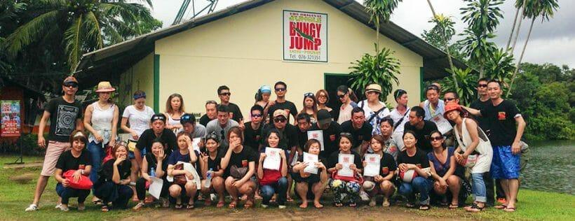 Jungle Bungy Jump Phuket
