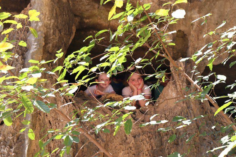 children james bond island