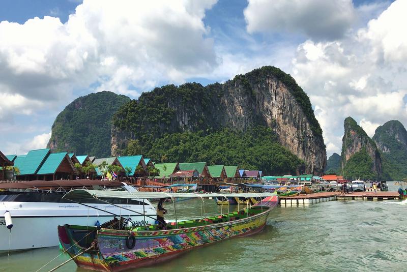 Floating Muslim Village