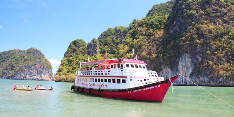 James Bond Island By Big Boat