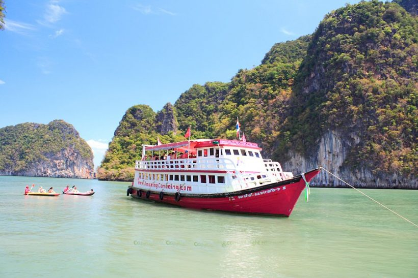 James Bond Island By Big Boat