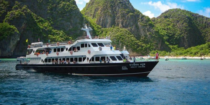 Ferry on Route to Lanta Phuket