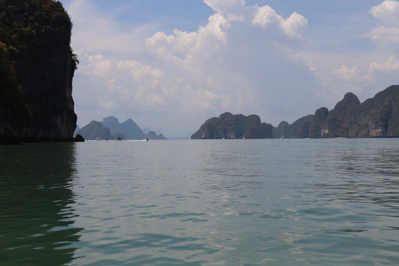 sea near james bond island