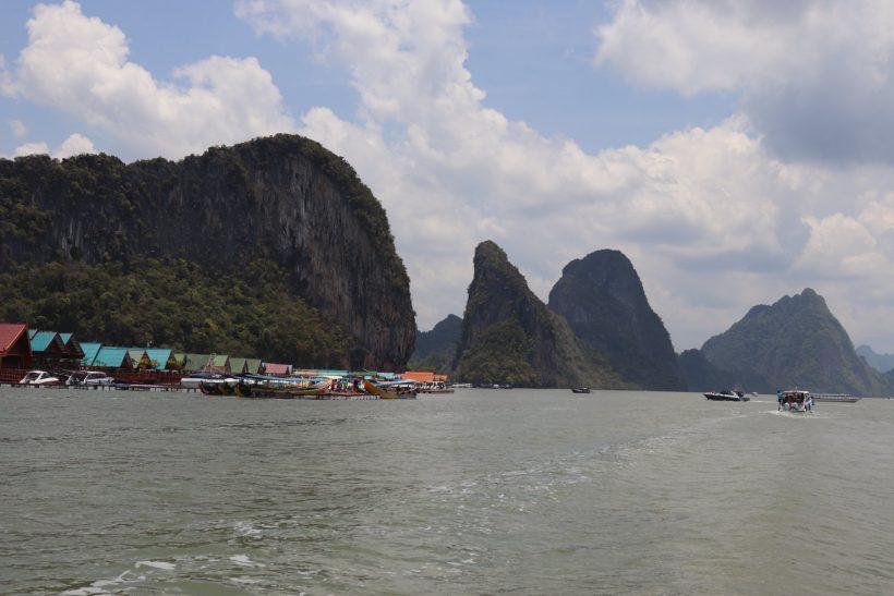 village in the sea thailand