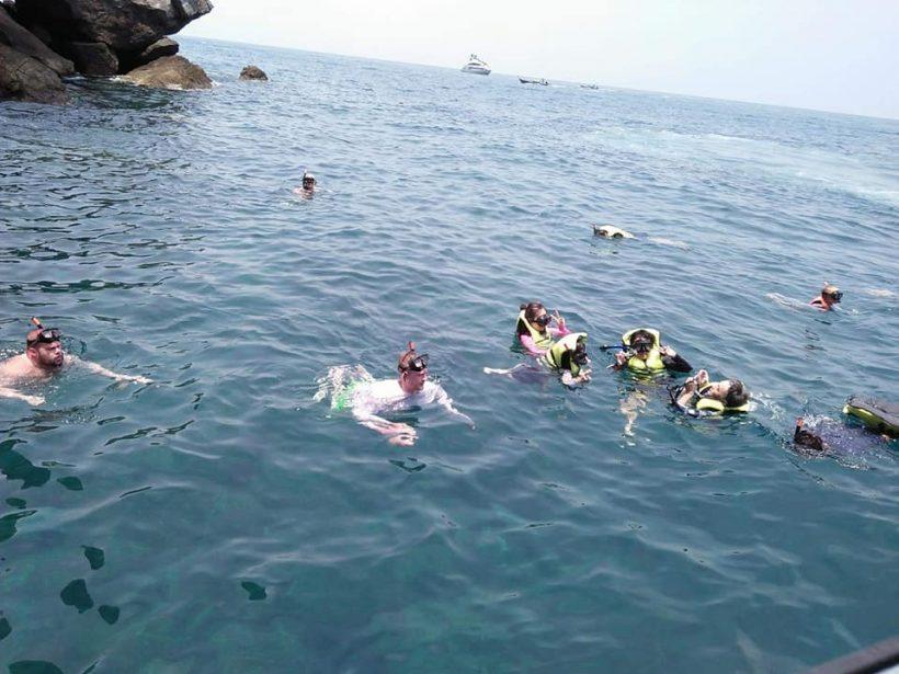 snorkel Khai islands