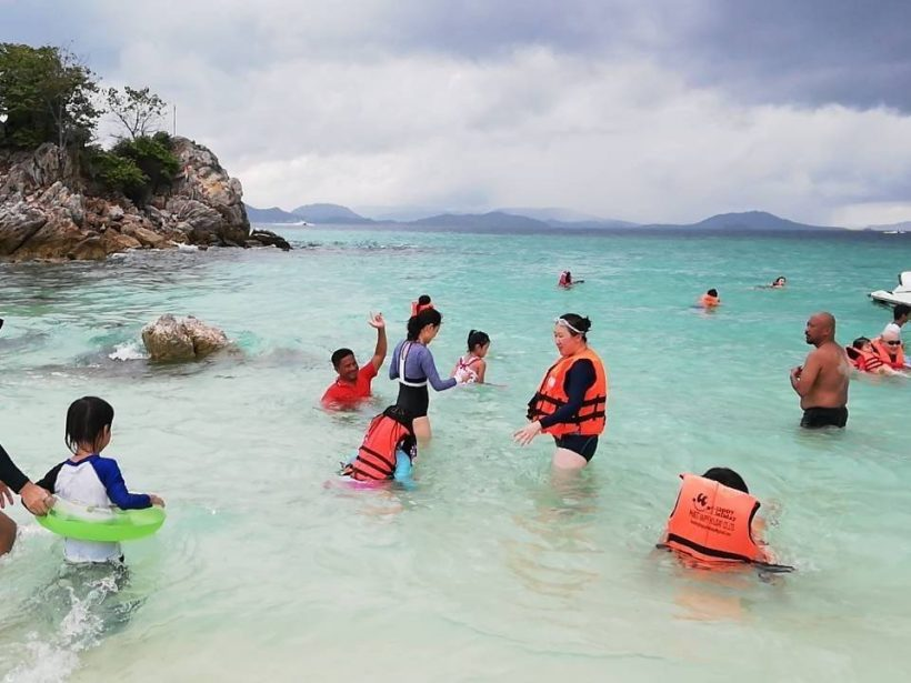 swim khai islands