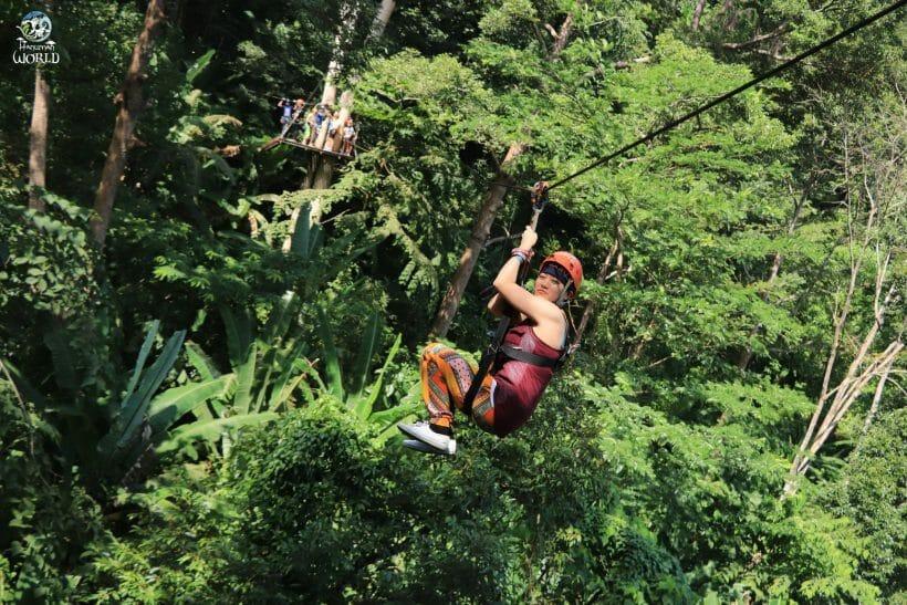 Zip Line Phuket Hanuman World