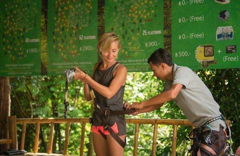 Jungle Xtreme Adventure Zipline