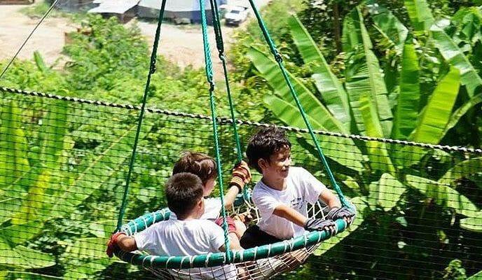 Children Zipline Phuket