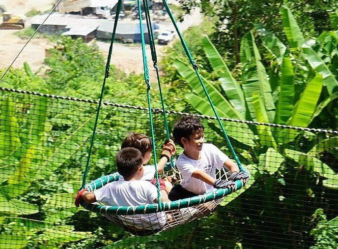 Children Zipline Phuket