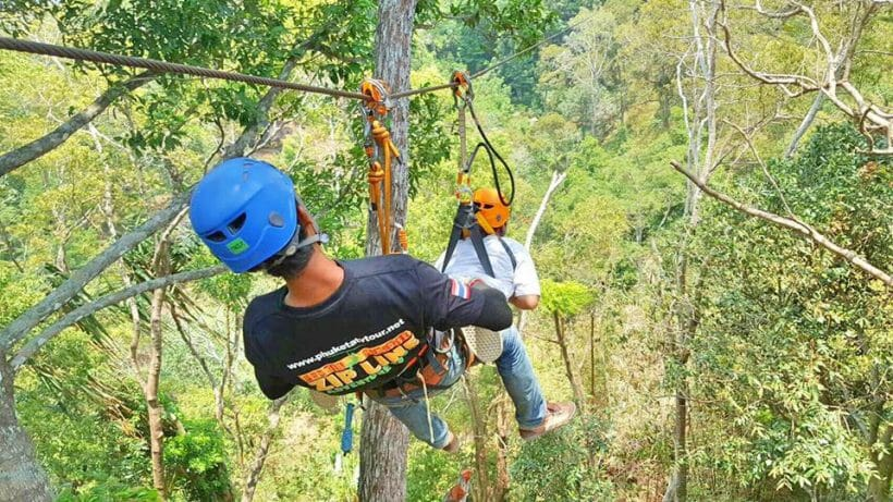 Zipline & ATV Tour