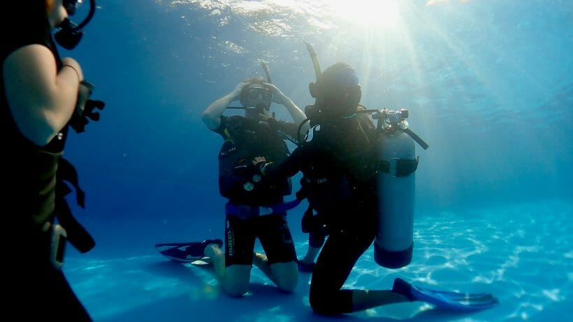 PADI Diving Course in Phuket