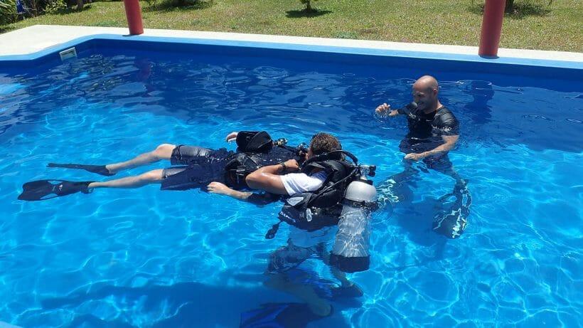Practising-PADI-Rescue-Diver-Skills-In-Phuket