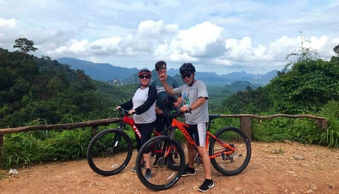 Khao Sok Cheow Larn Lake Biking Tour
