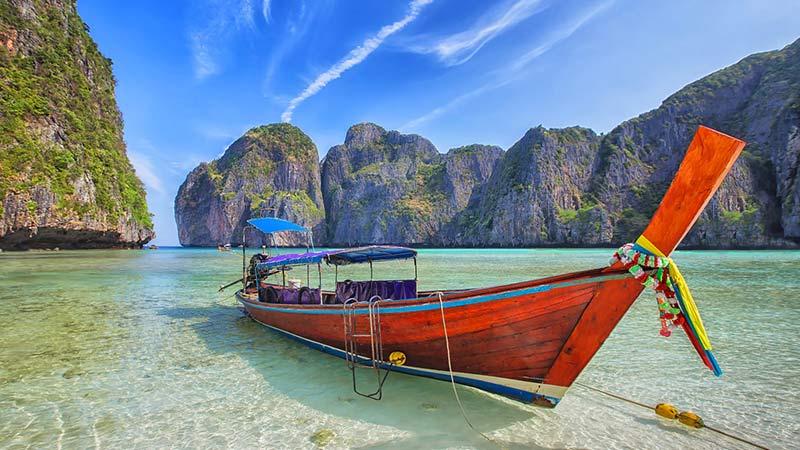 Long Tail Boat Phi Phi Island
